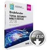 Bitdefender Total Security 2019 | 5 Dispositivos | 1 Año | ESD | Descargar | Email