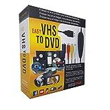 FONCBIEN VHS to Digital Converter - [Actualizar] USB 2.0 Video Audio Grabadora De Captura Adaptador Tarjeta V8 / Vi8 VHS a DVD...