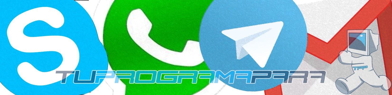Descargar programas de Comunicación y Mensajería