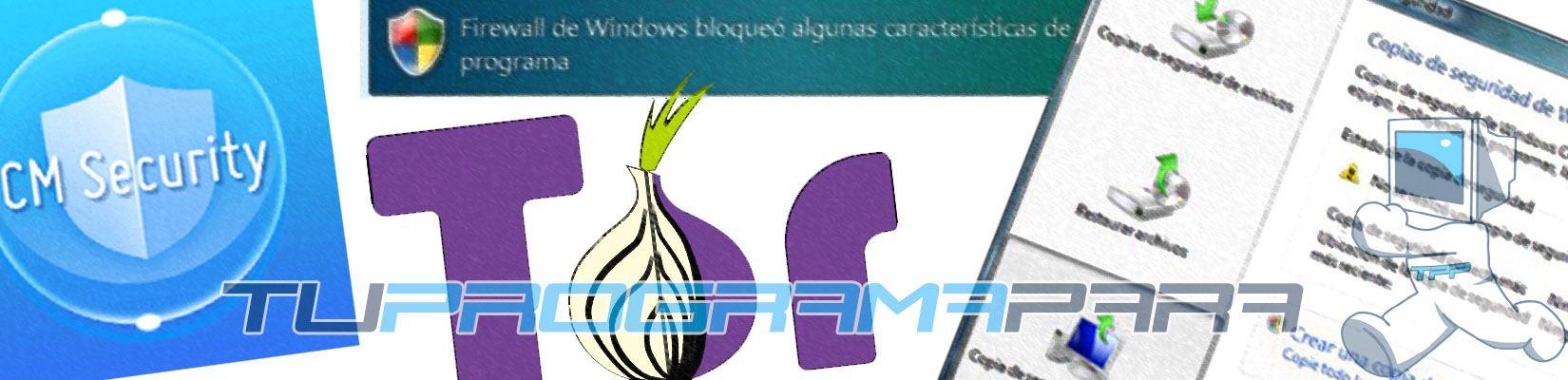 software de seguridad y privacidad