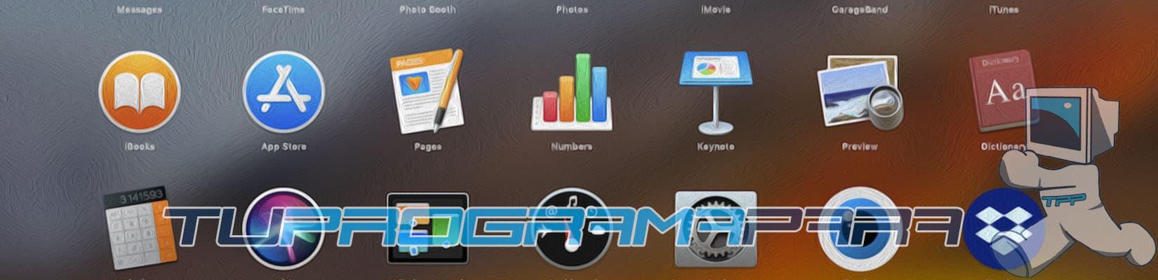 desinstalar aplicaciones mac