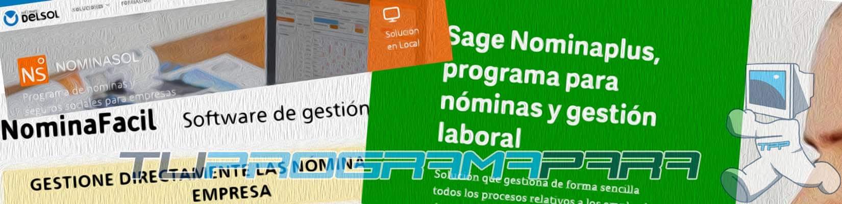 programa para hacer nominas