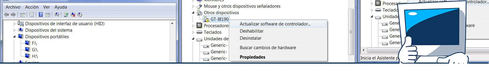 windows 10 no reconoce usb