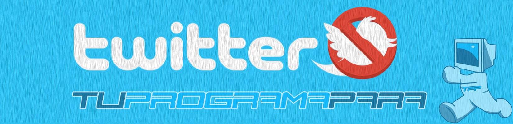 como eliminar una cuenta de twitter
