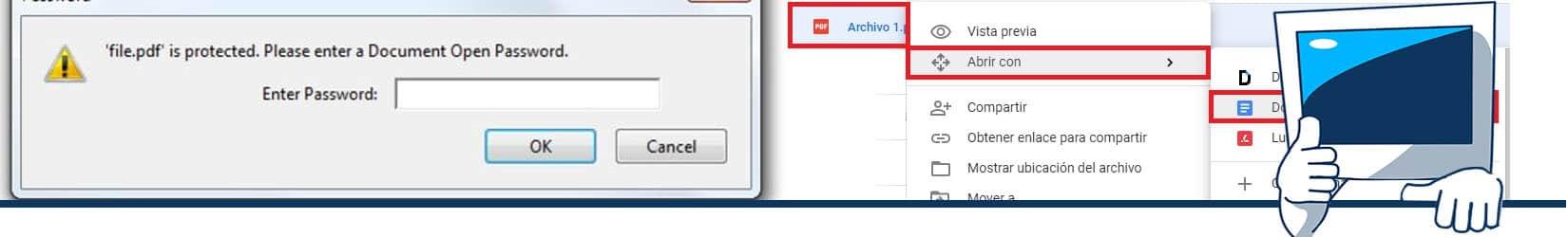 como imprimir un pdf protegido