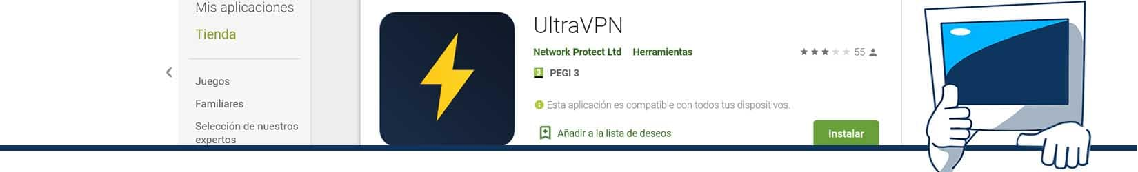 ultravpn para iphone