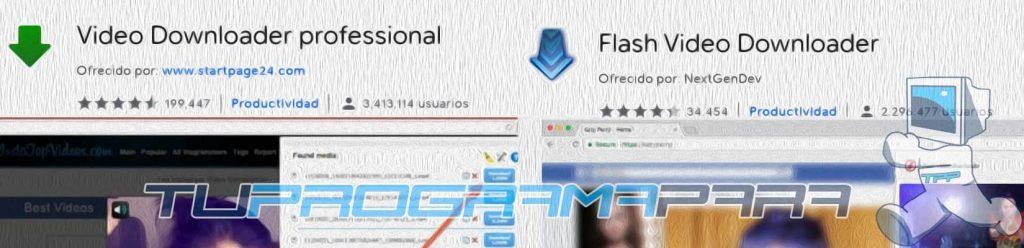 extension chrome descargar videos