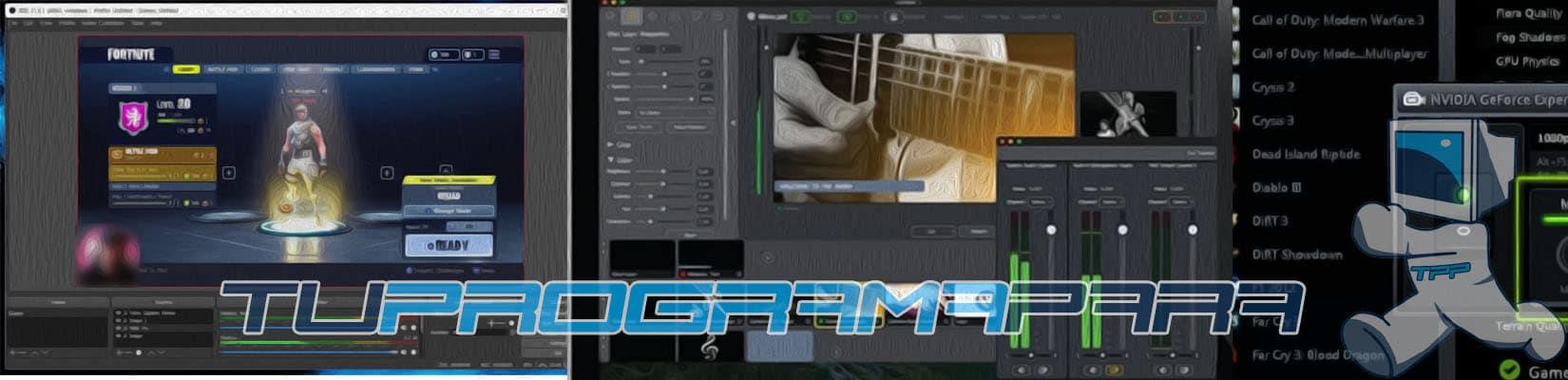 programas para hacer directos en youtube