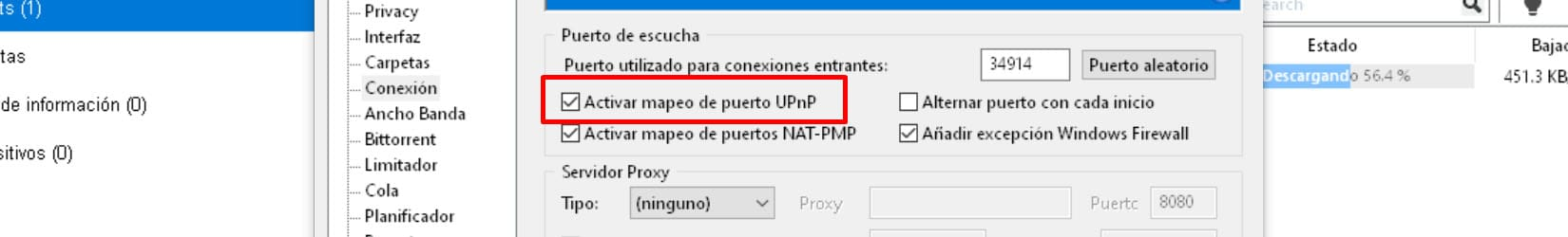 aumentar descarga utorrent