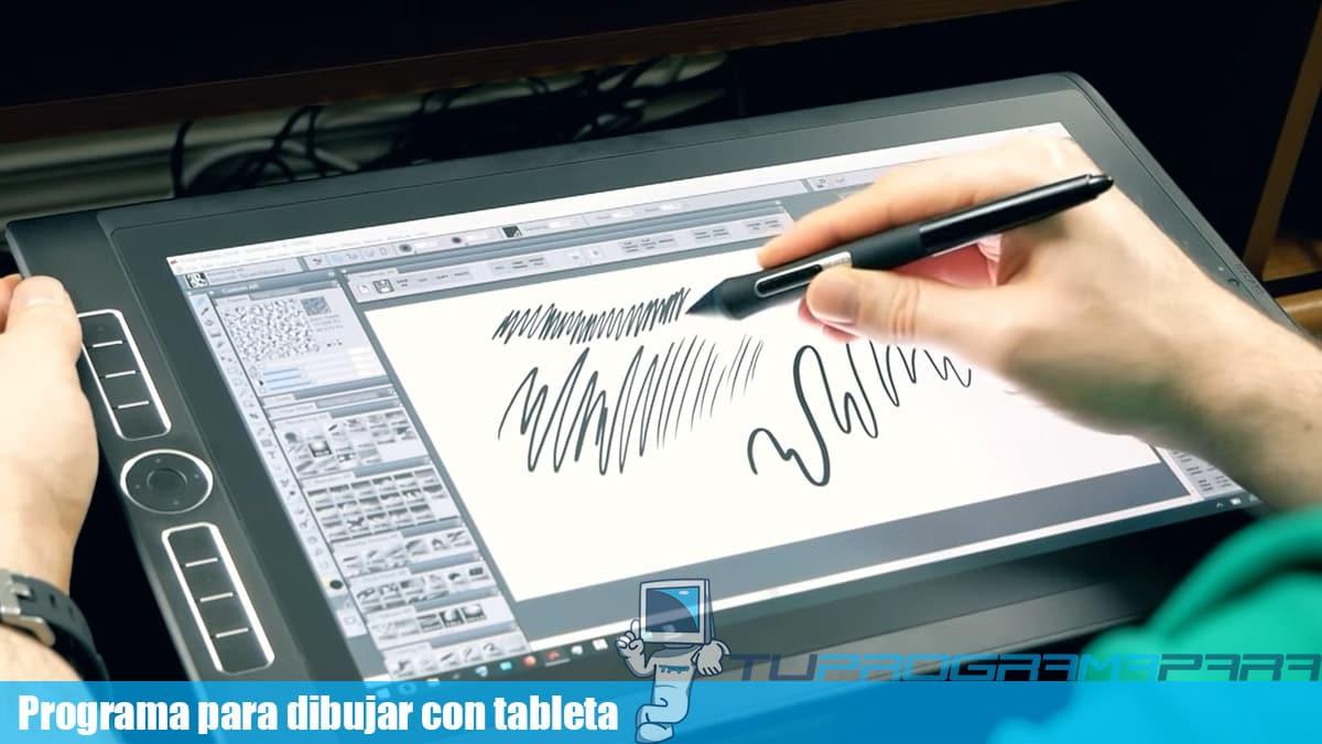 programas para dibujar con tableta gratis
