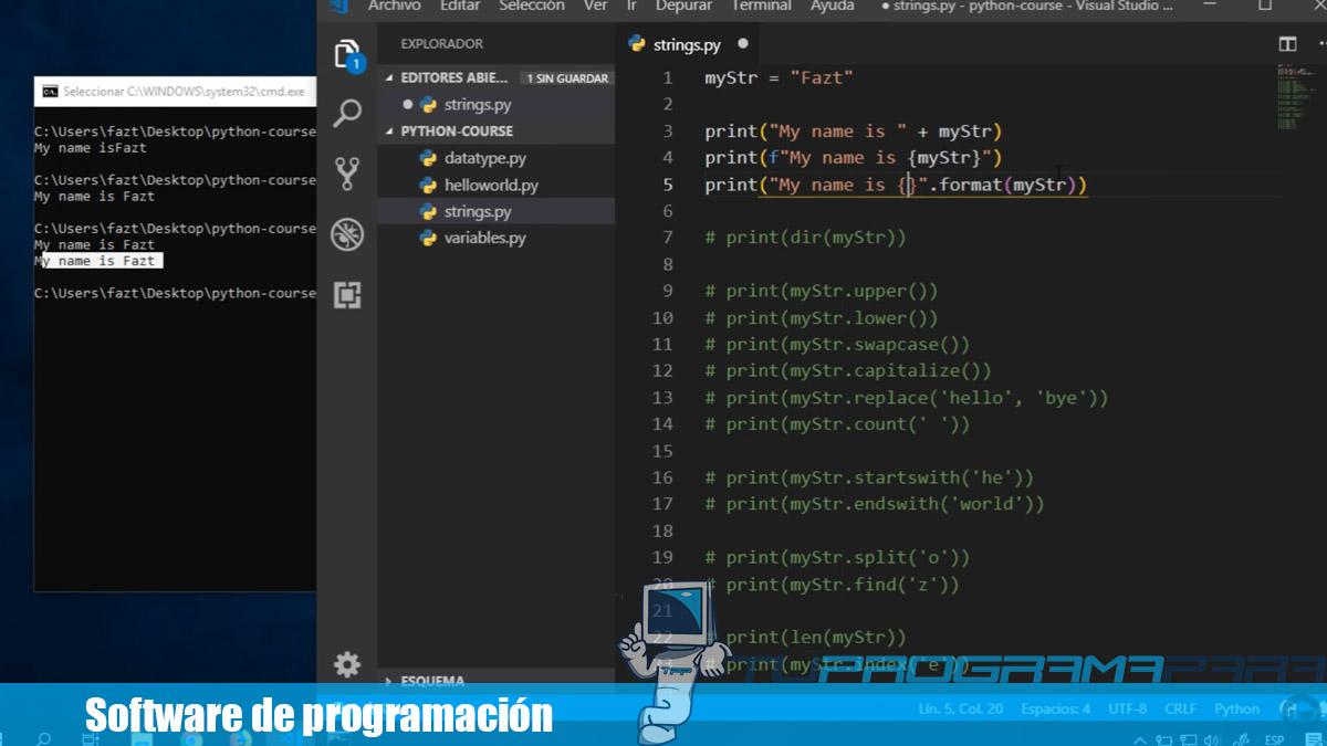 software de programacion ejemplos