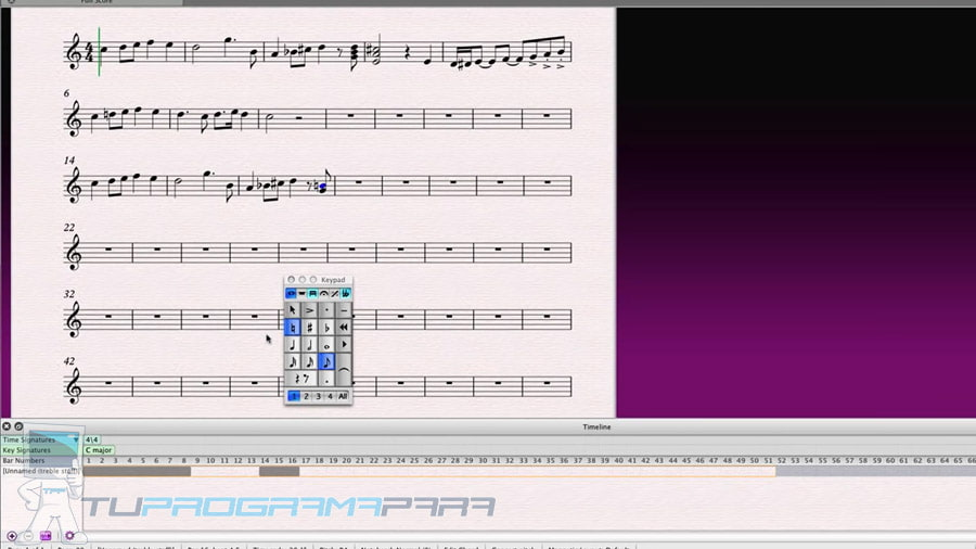 programa para hacer partituras