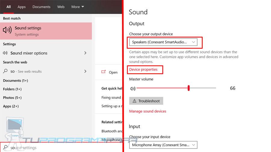 aumentar sonido windows 10